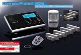 Olympia Protect 9061 Sicherheit Plus Alarmanlage GSM Funk Set 1 x Bewegungsmelder 7 x Tür Fenster/Kontakte und Fernbedienung - 1